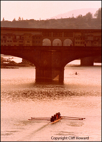 Photography - Arno river Firenze, by Cliff Howard