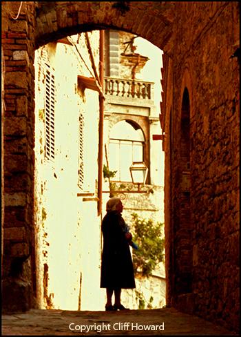 Photography - San Gimignano by Cliff Howard