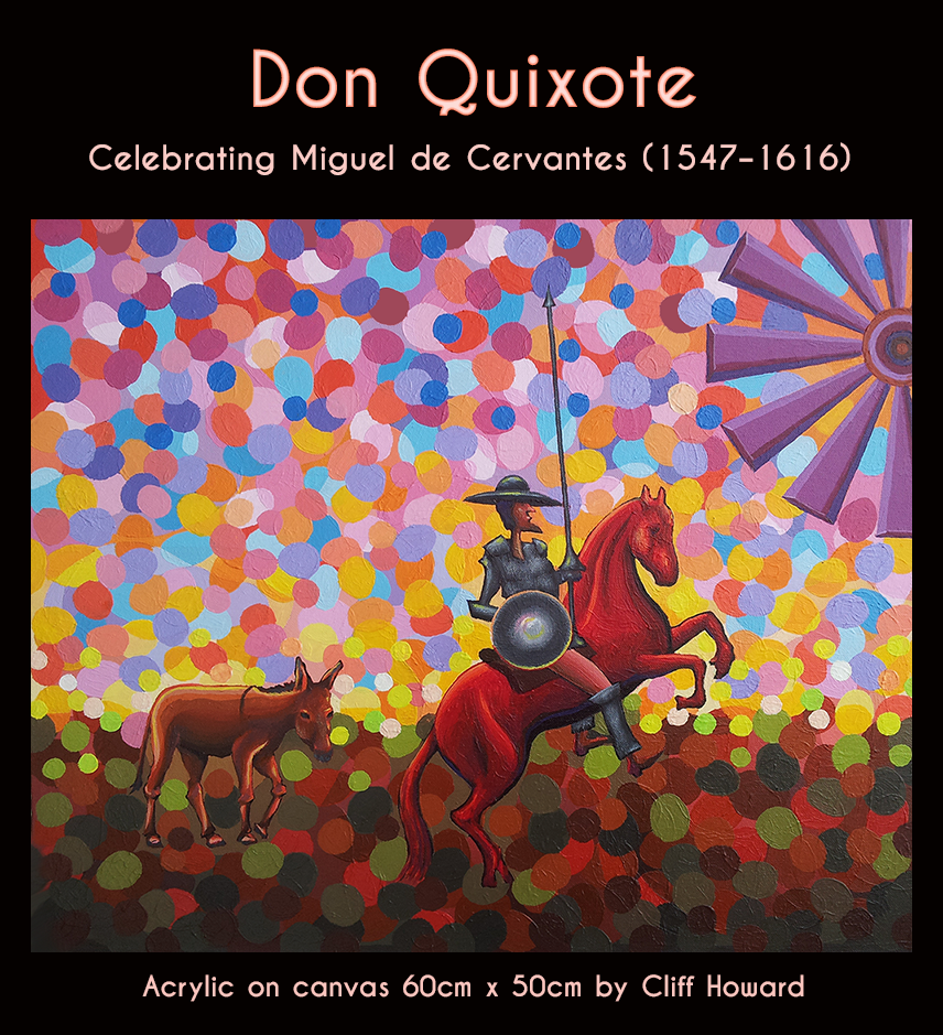 Don Quixote by Spanish author Miguel de Cervantes
