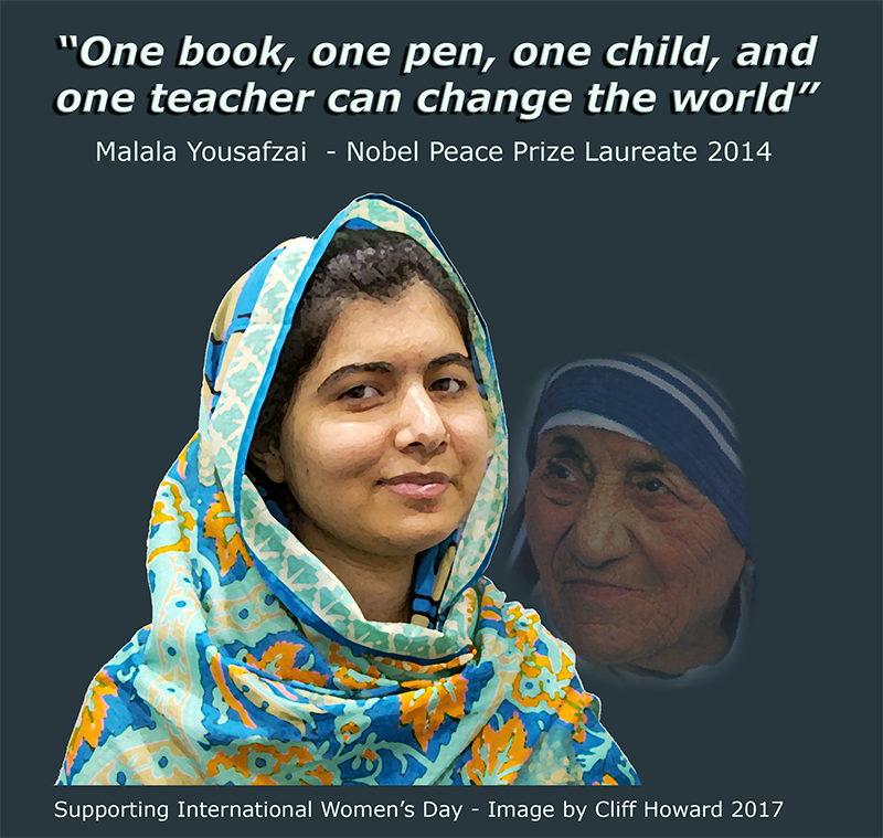 International Women's Day #genderequality #InsightSBS #Malala