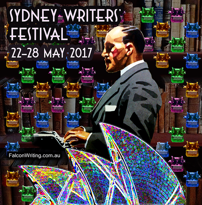 Sydney Writers' Festival is on 22-28 May 2017. #CliffHowardArtist