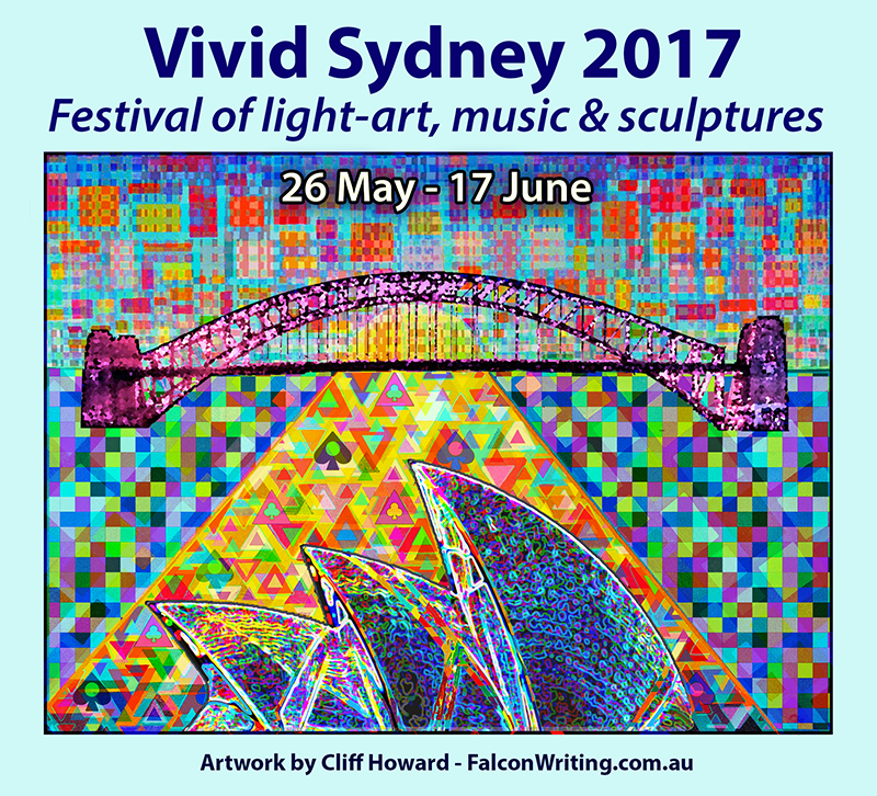 #VividSydney festival venues includes #OperaHouse. #Musicians incl #DianneReeves #LauraMarling. Art by #CliffHowardArtist