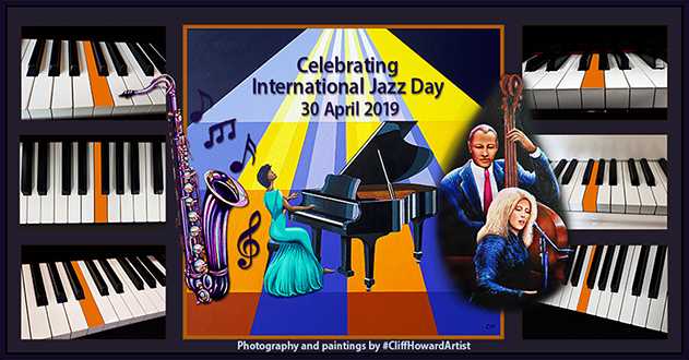 #music #pianos #sax #CliffHowardArtist #artwork #graphics #posters #logos