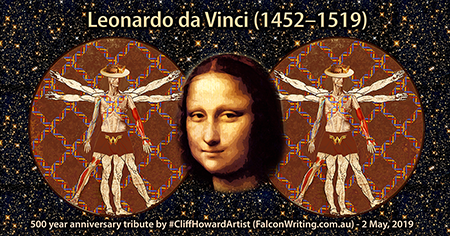 #Italy #LeonardodaVinci # #MonaLisa #CliffHowardArtist #artwork #graphics #posters #logos